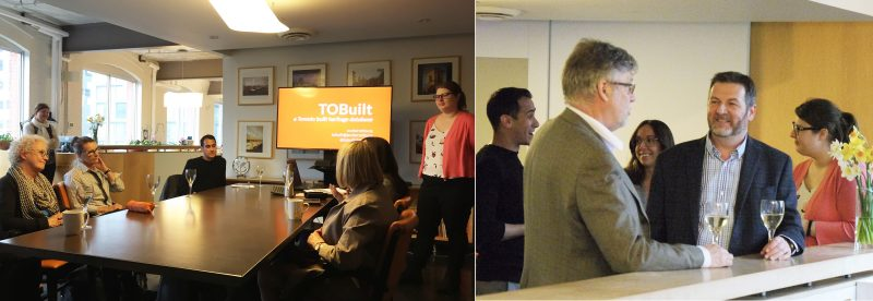 Architecture Conservancy Ontario presents TOBuilt Database at THA